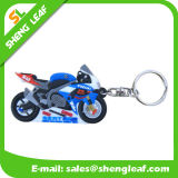 Supply Custom Rubber Soft PVC Key Chain (SLF-KC015)