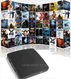 2017 la más nueva base elegante Caidao Cws520 1+8GB del patio de Amlogic S905X del rectángulo de la TV o el rectángulo por completo cargado más nuevo del androide 6.0 TV de 2+8GB 4k Kodi Caidao Cws520