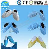 Cubierta anti disponible del zapato del resbalón de la venta caliente, cubierta médica protectora del zapato