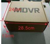 4CH el coche DVR, soportes se dobla las tarjetas del SD y disco duro