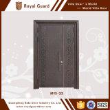 Diseños modernos de la puerta del estilo del fabricante de la puerta de las puertas principales europeas del metal para las casas