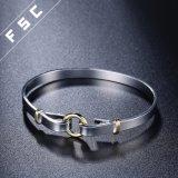 Верхний продавая высоким браслет конструкции покрынный серебром женский круглый