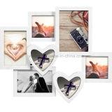Пластичная Multi рамка фотоего сердца коллажа украшения Openning домашняя