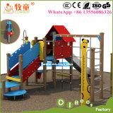 Оборудование спортивной площадки детей высокого качества Китая напольное/напольное скольжение спортивной площадки для малышей