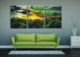 Impression faite sur commande de toile de type de toile de cheval de tentures d'art de décor mural énorme abstrait moderne de maison