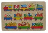 Головоломка деревянной головоломки зигзага деревянная (34375)
