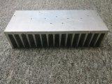 El CNC trabajó a máquina el aluminio del final del molino 6063t5 sacó perfil del disipador de calor