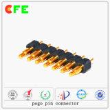 federgelagerter Verbinder 7pin Pogo Pin für elektronische Produkte