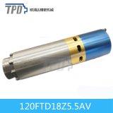 Luft abgekühlte asynchrone dreiphasigspindel ATC-5.5kw für CNC-Fräser