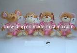 3 orsi di seduta del biglietto di S. Valentino della peluche di formati con materiale molle (soltanto la pelle è disponibile)