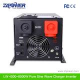 Inversor puro de baixa frequência da potência de onda do seno 3000W da eficiência elevada da alta qualidade
