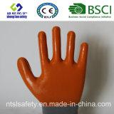 раковина полиэфира 13G с покрынными нитрилом перчатками работы (SL-N106)