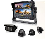 4CH 1080P Mobile DVR com monitor HD de 7 polegadas