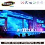 Mur polychrome d'intérieur élevé de vidéo d'étalage d'écran P4.81 de Refeesh 3840Hz