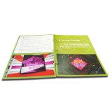 Cmyk Afgedrukt draad-O die de Druk van het pvc- Tijdschrift binden