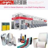 Qhsy-a 시리즈 4는 기계를 인쇄하는 600mm 폭 전자 선 샤프트 플레스틱 필름 사진 요판을 착색한다