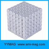 Cubo mágico magnético dos blocos neo do Neodymium 5X5X5 da alta qualidade