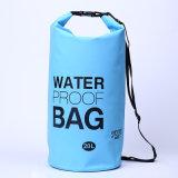 20L campants extérieurs promotionnels imperméabilisent le sac sec de sac à dos de baril (YKY7273)