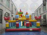 Campo da giuoco gonfiabile esterno, affitto gigante del parco di divertimenti