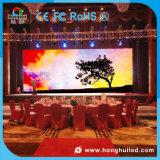 Visualización de LED de interior de HD P3.91 P4.81 SMD para la actividad del hotel