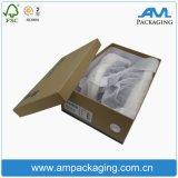 Kleid-bestellte Papierverpackungs-Kasten handgemachter Schuh-verpackengeschenk-Kasten-Lieferanten in Dongguan voraus