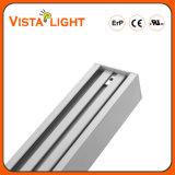 O poder superior 30W refrigera a iluminação linear branca do diodo emissor de luz para escritórios