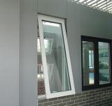 Het regelbare Venster van het Glas van het Frame van het Aluminium Hoogste Gehangen met Aangepaste Grootte