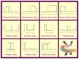 Vielfalt-flexible Aluminiummetallfliese-Ordnung
