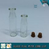 do espaço livre de madeira da tampa de 2ml 3ml tubo de ensaio de vidro cosmético