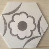 Дешевая водоструйная мозаика камня мозаики для строительного материала
