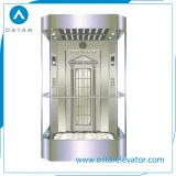 do elevador de vidro da observação de 800kg~1600kg 1.0m/S elevador panorâmico