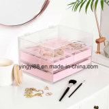 Новая и горячая акриловая коробка ювелирных изделий & косметики