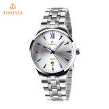 Form-LuxuxEdelstahl-Uhrmens-Quarz-Geschäfts-Uhr 72428