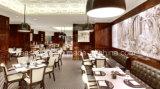 Weiße feste hölzerne Möbel kundenspezifische Gaststätte-Stühle und Tische
