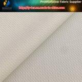 Tessuto bianco del jacquard del Fishnet, tessuto dell'indumento dello Spandex del poliestere (R0143)