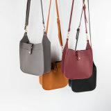 Mode réglée populaire classique de Laest de sac en cuir de sac à main de sac d'épaule de type