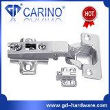 Haltbares Eisen-Möbel-Nickel überzogene Schrank-hydraulische Scharniere (B12)