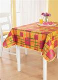 Tablecloth impresso revestimento protetor do PVC do Nonwoven/Spunlace no rolo