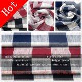 Tissu de toile de polyester de coton de rayonne pour le sofa de chemise de jupe de robe
