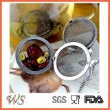 Инструмент чая нержавеющей стали шарика чая стрейнера чая Wsclft019 для фильтра чая свободных листьев