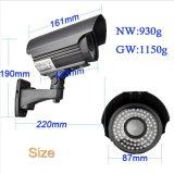 Sistema de segurança 4.0MP Wdm Câmeras de vigilância CCTV com 80m IR