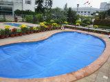 Couverture solaire bleue de piscine de bulle pour le syndicat de prix ferme d'Inground