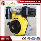 186fa 9.4HP 6.5kw 3000rpm Kleine Dieselmotor 1 Cilinder 4 Slag