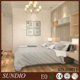 Impermeable Mildewproof decoración extruir madera de plástico compuesto del perfil WPC panel para la decoración del dormitorio
