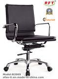 Présidence de gestionnaire d'émerillon de cuir d'hôtel en métal de bureau (B54)