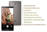 """2016 telefones móveis Android máximos originais do núcleo 13MP 4G Lte de Huawei P8 6.8 """" Octa"""