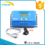 MPPT 20A/30A/40A/50A 12V/24V LCDのバックライト2年の保証の太陽コントローラYs-20A