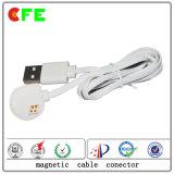 Магнитный кабельный соединитель с USB для пригодного для носки продукта