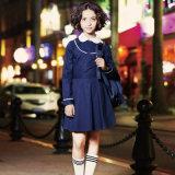 カスタム甘い女の子の学生服のエプロンの服
