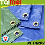 PE di argento/verde Tarps con sottoposto agli UV